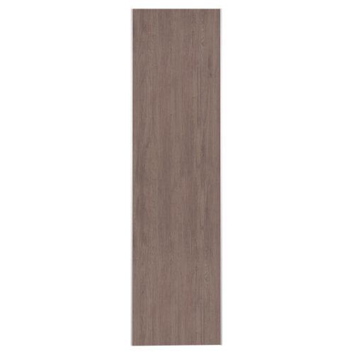 Puerta corredera de armario oslo roble gris 60x228 cm