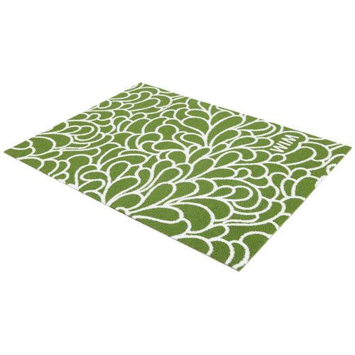 Césped artificial floral green 1.4 x2 m y 13 mm de altura de fibras