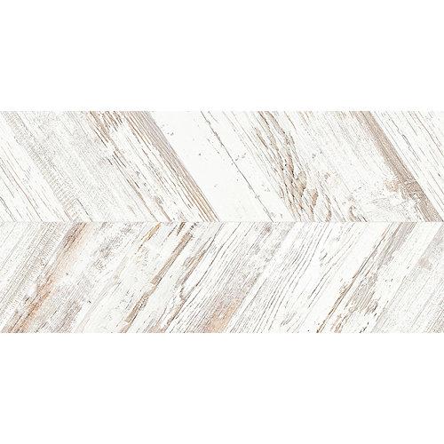 Pavimento porcelánico tribeca 45x90 spiga blanco c1 artens