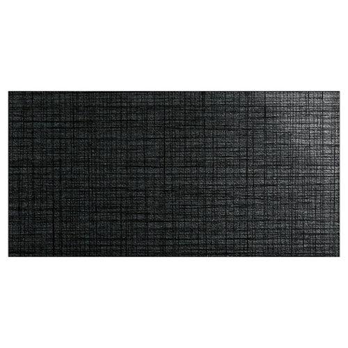Baldosa cerámica de 30x60 cm en color negro