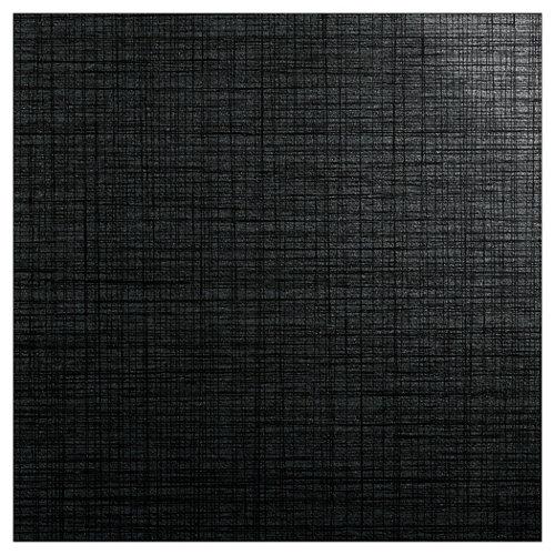 Baldosa cerámica de 60x60 cm en color negro