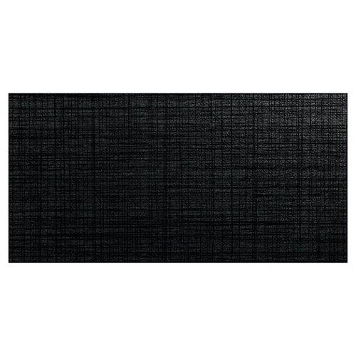 Baldosa cerámica de 45x90 cm en color negro