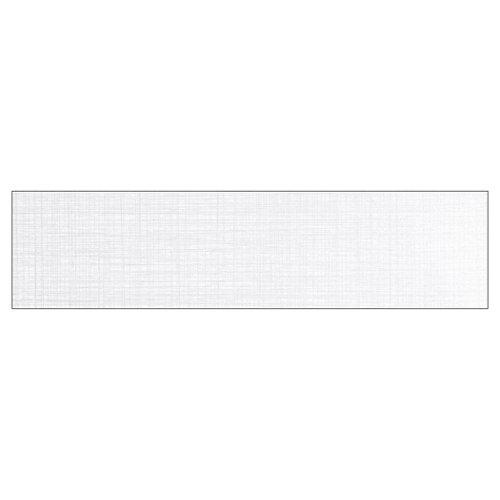 Baldosa cerámica de 22x90 cm en color blanco