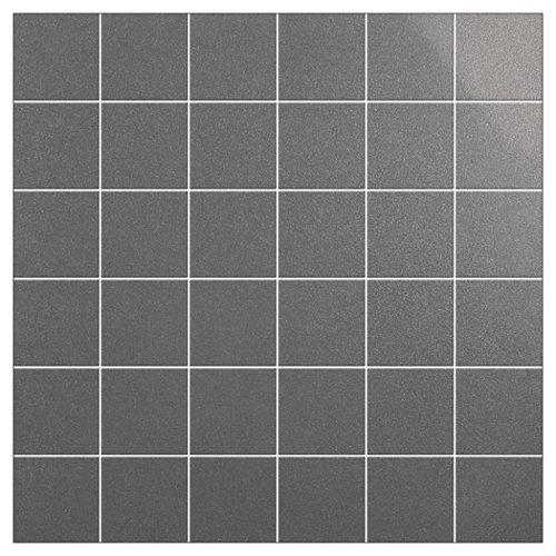 Mosaico smart gris para suelo y pared de 30x30cm