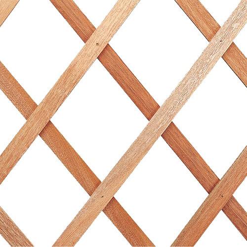 Celosía extensible de madera madera 50x150 cm