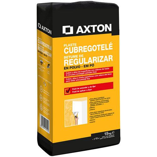Plaste en polvo cubre gotelé mate axton de 15 kg