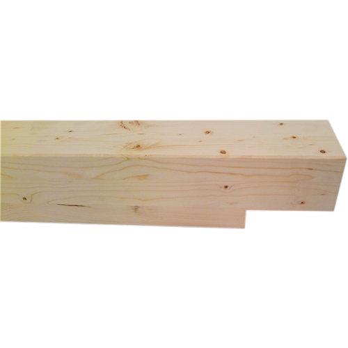 Poste laminado madera de abeto 12 x 240 x 12 cm testa 6 x 12