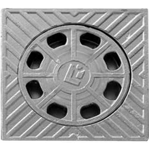 Sumidero de aluminio 20x20 cm