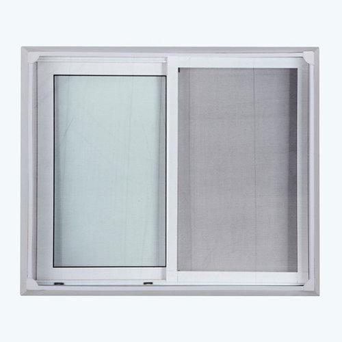 Mosquitera fija para ventana de poliéster de 100x120 cm