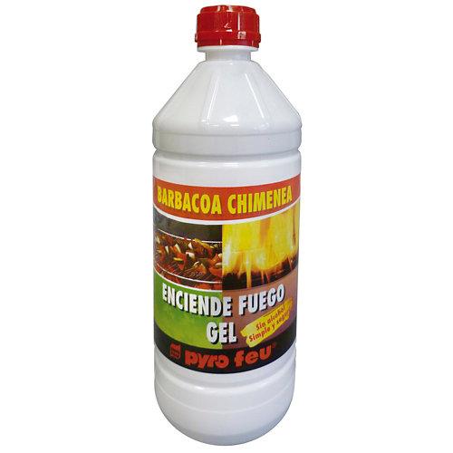 Gel de encendido para estufa de leña saneplast pyrofeu 1l