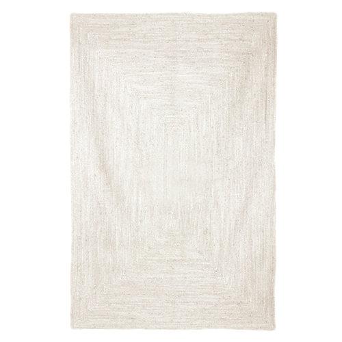 Alfombra multicolor yute alhambra blanco 160 x 230cm