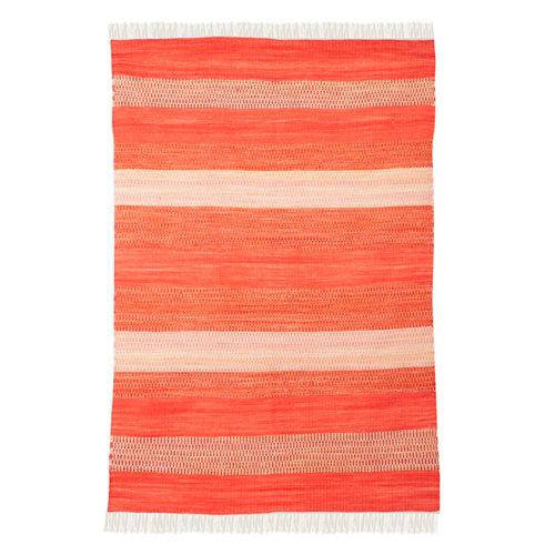 Alfombra multicolor lana kilim ethnica 120 x 180cm