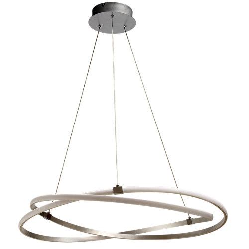 Lámpara de techo led infinity blanca 1 luz