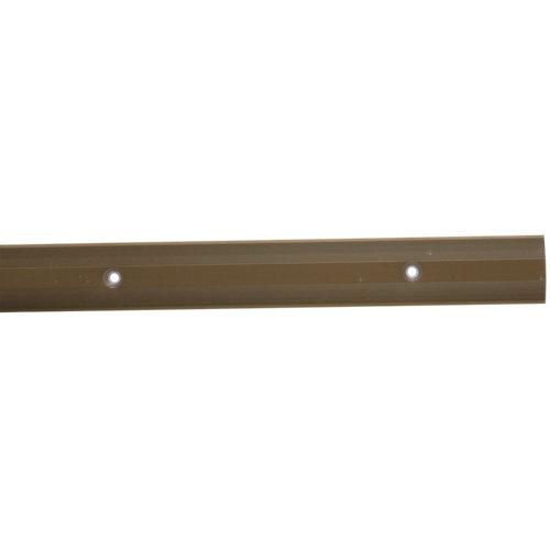 Perfil de dilatación baglinox de aluminio marrón 90 cm