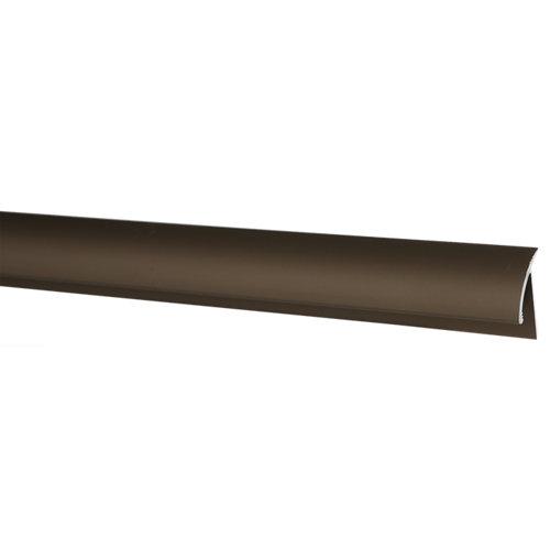 Perfil de transición baglinox de aluminio marrón 90 cm