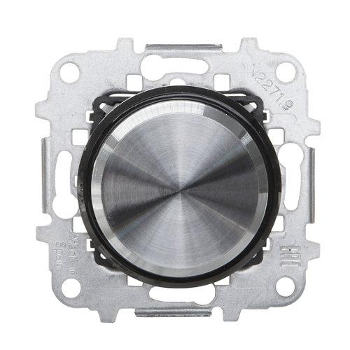 Regulador giratorio niessen sky moon cristal negro