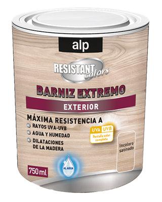 Barniz para madera X-TREM al agua satinado 750 ml incoloro