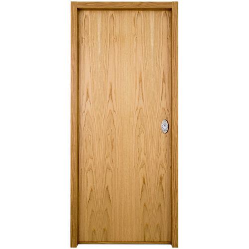 Puerta de entrada acorazada serie v provenzal izquierda roble/blanco de 206x89cm