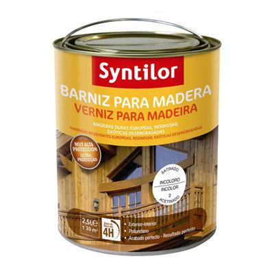 Barniz para madera incoloro Aquaréthane 2,5L