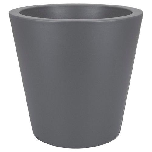 Maceta de resina de polietileno elho negro 65x68.5 cm
