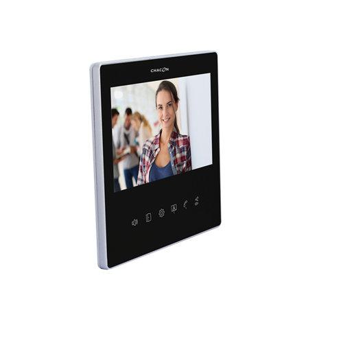 """Monitor adicional de 7"""" para videoportero chacon slim negro"""