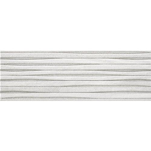 Revestimiento burlington 20x60 relieves blanco