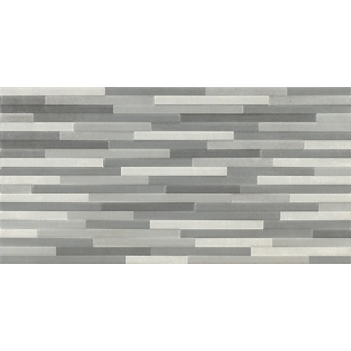 Revestimiento blackpool 25x50 decorado gris artens