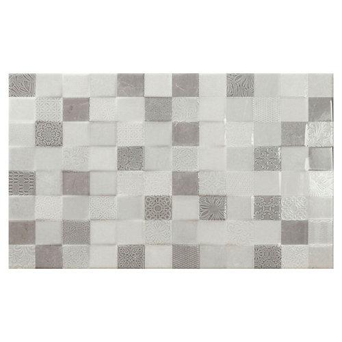 Revestimiento bellagio 33,3x55 brillo perla relieve