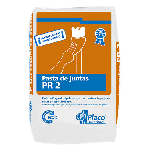 Pasta para juntas placo pr2 25 kg