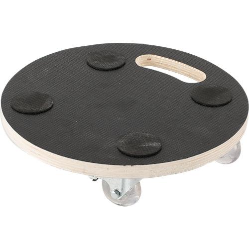Soporte rodante de madera antideslizante y 80.0 kg de carga máxima