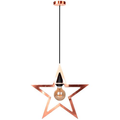 Lámpara star naranja
