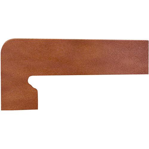 Zanquin izquierdo rojo 39.5 cm de largo
