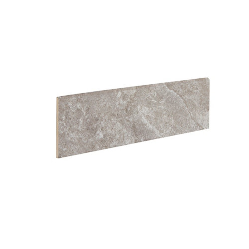 Rodapié serie petra 9x33 cm gris