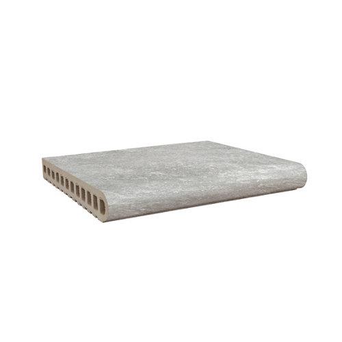 Borde de peldaño piscina petra gris 28x33 cm
