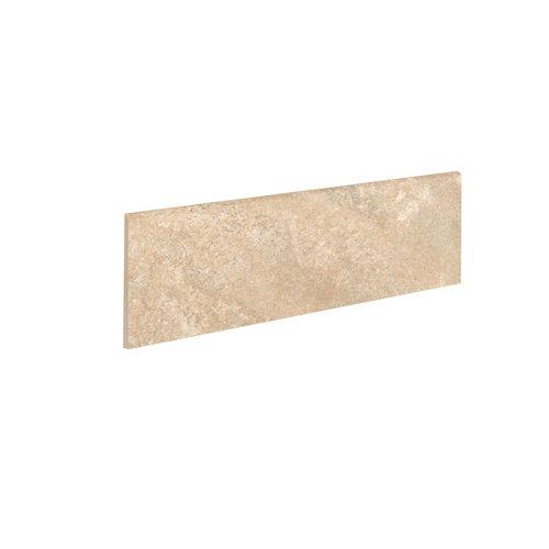 Rodapié serie petra 9x33 cm ocre