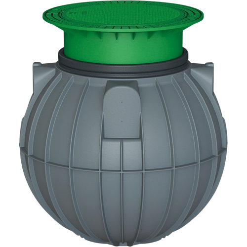 Fosa séptica con filtro biológico de 600l