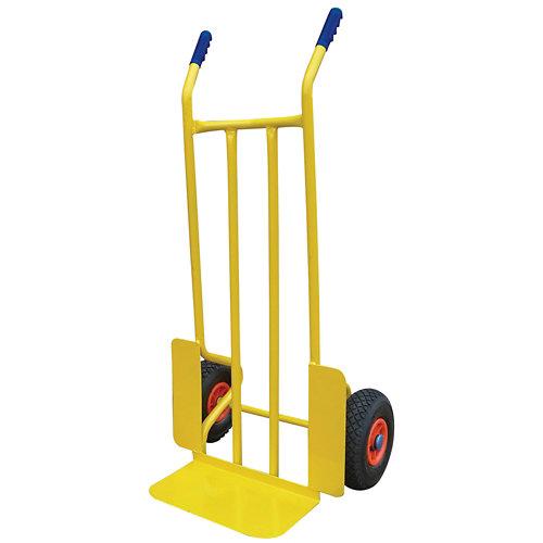 Carretilla rígida con ruedas hinchables y 300 kg de carga máxima