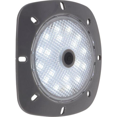 Proyector led aqualux blanco imantado gris 10 w 5.7 cm de ø