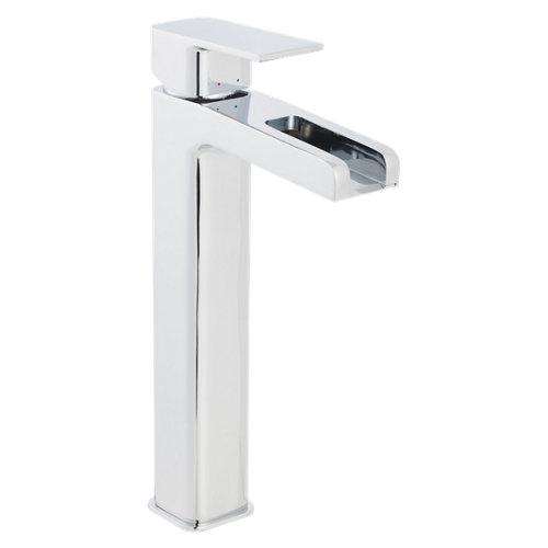Grifo de lavabo c/alto sensea samar cromo