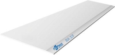 Placa Cartón/Yeso laminado Blanco 120x200x1,5 cm