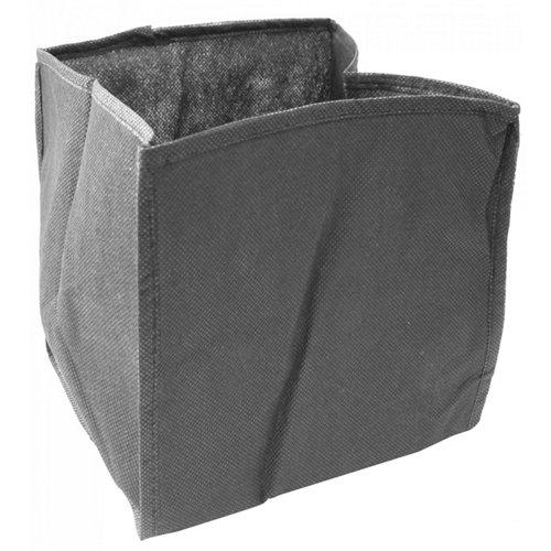 Bolsa de plantación cuadrada pvc 25x25x20 cm