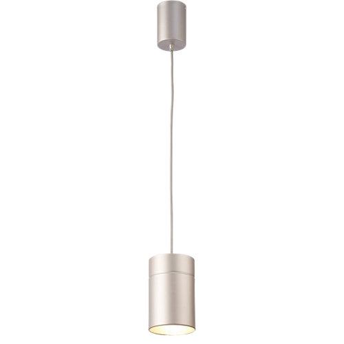 Lámpara de techo aruba plateada 1 luz