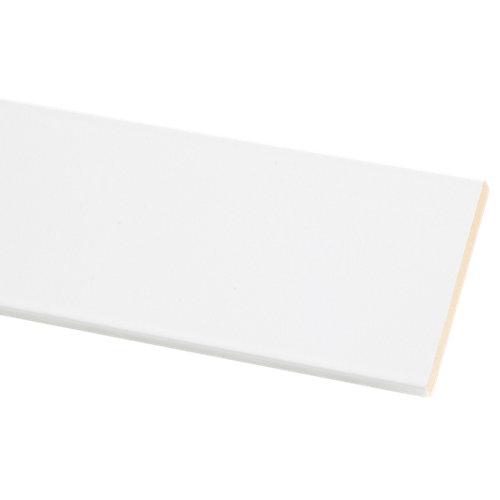 Jamba de madera rechapada blanco de 2,2 m