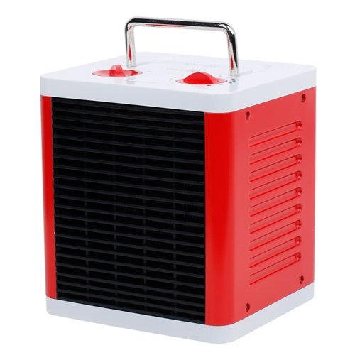 Calefactor eléctrico cubo 81000105 1500 w rojo