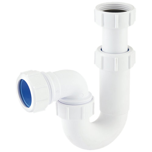 Sifón lavabo 32 a 32 mm extensible