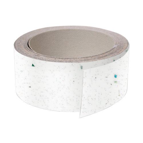 Rollo canto de encimera para cocina color blanco de 4,5x360x0,5 cm