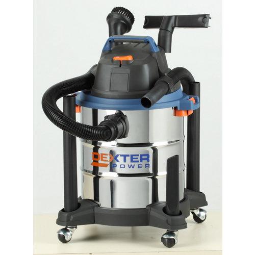 Aspirador húmedo y seco dexter power de 1400 w