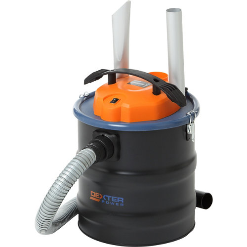 Aspirador de ceniza dexter power de 1000 w 20l