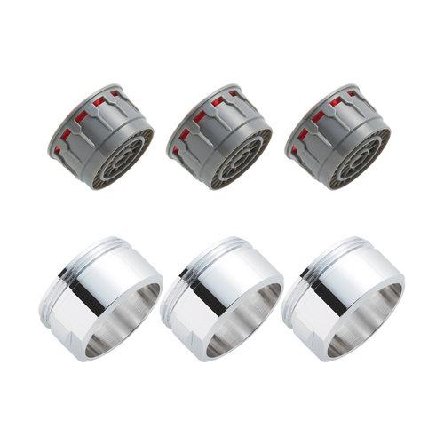 Kit de 6 aireadores y filtros grifo equation