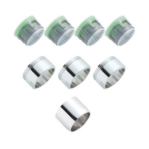 Kit de 4 aireadores y 4 boquillas equation